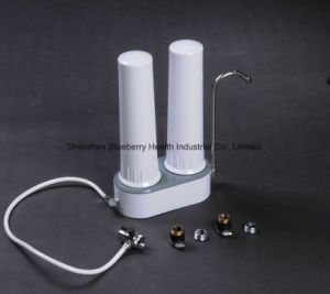 Dual Stage Water Filter/Purifier with Ceramic Candle Combined Carbon Block, Kdf&Calcium Sulfite pictures & photos