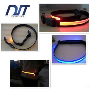 LED Nylon Luminous Reflective Belt pictures & photos