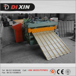 Corrugated Aluminium Roof Sheet Making Machine pictures & photos