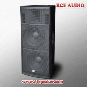 "Dual 15"" 2 Way Passive PA Speaker Box Full Range Loudspeaker"