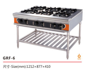 Cooking Stove for Commercial Restaurant Kitchen pictures & photos