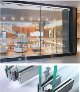 Floding Door Fitting, Glass Door Fitting, Glass Fitting, Frameless Glass Door Fitting (HR2100A) pictures & photos