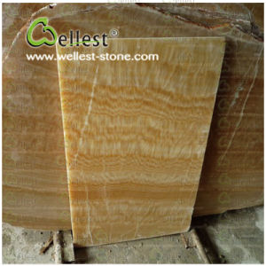 Natural Translucent Yellow Honey Onyx for Bathroom/Background/Floor/Wall/Tops pictures & photos