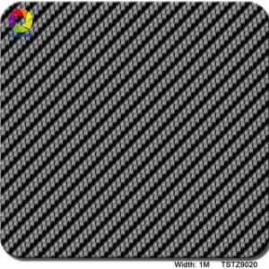 Tsautop 1m Width HD Carbon Fiber Liquid Image Wholesale Hydrographic Film pictures & photos
