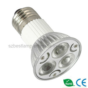 PAR16 LED Lighting (3x3w CREE LEDs) pictures & photos