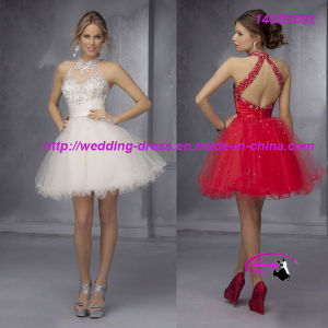 Charming Halter Fashion Evening Prom Dress pictures & photos
