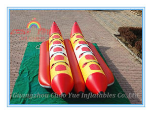 New Inflatable Water Floating Banana Boat for Amusement Park pictures & photos