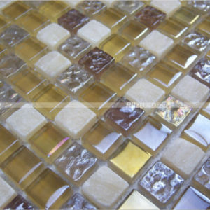 Crystal&Glass Tiles, Straight Flange Glass and Crystal Stone Surface/ Mosaic Tiles pictures & photos