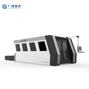 High Quality CNC Fiber Laser Cutter (GY-1530FD) pictures & photos