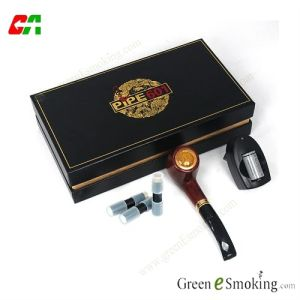 Big Electronic Cigarette Pipe, Touch Button E-Pipe E601c with Cartomizer, 2013 Garry Mead Original Design