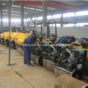 2 Ton Hydraulic Ride on Double Drum Bomag Roller Compactor (FYL-900) pictures & photos