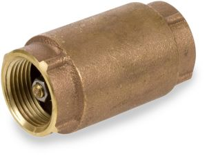 "1"" NPT Female Brass Check Valve pictures & photos"