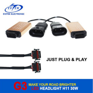 Hot Sales CREE Xhp50 30W 3000lm H1 H4 H7 9005 9006 Car LED Headlight pictures & photos