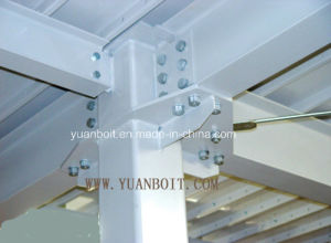 Steel Mezzanine Multiconnection Point (see picture) Big Span Steel Wareshouse pictures & photos
