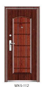 Steel Security Door (WX-S-112) pictures & photos