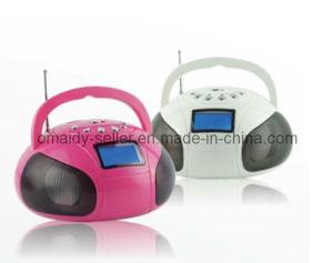 Am/FM Boombox Radio with USB Speaker