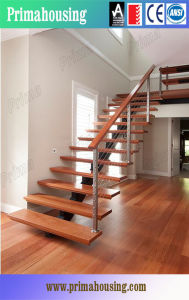 Modern Stainless Steel Wood Open Stair Staircase pictures & photos