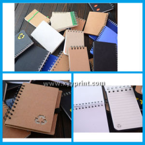 Promotion Spiral Paper Notebook with Pen Wholesale pictures & photos