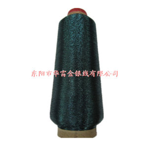 Ms Type Metallic Yarn Green Color for Embroidery