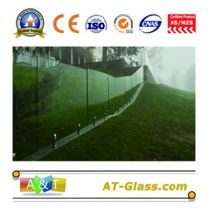 10mm 12mm Tempered Glass/Toughened Glass/Used for Glass Fence/Shower Screens, etc pictures & photos