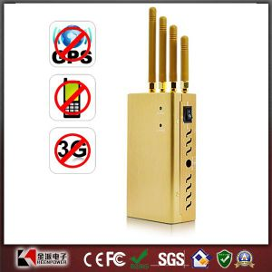 Portable 3G Cell Phone GPS Jammer - 15 Meters pictures & photos
