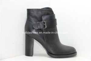 15fw New Fashion High Heels Women Leather Boots pictures & photos