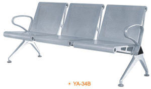 Metal 3 Seater Cheap Price Airport Waiting Public Metal Chair (YA-34B) pictures & photos