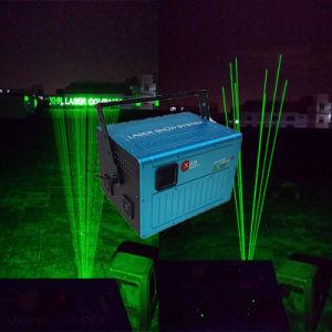 High Power Single Green Landmark Outdoor Laser Light for Super Building