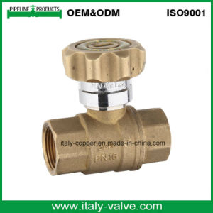 Wholesale Brass Lockable Ball Valve with Lock (AV1006) pictures & photos