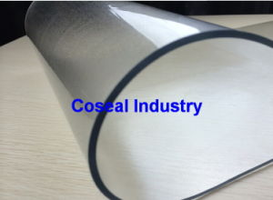 Natural Soft Flexible Plastic Fabric PVC Sheet pictures & photos