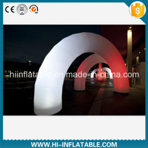 Custom Made Event, Wedding Decoration LED Lighting Inflatable Arch / Archway No. 12404 for Sale