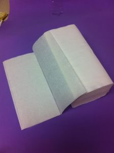 Virgin Single Fold Paper Towel 150 Sheets High Quality pictures & photos
