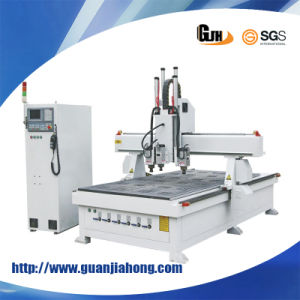 Simple Auto-Tool Changing, Multi-Workstage 325, Engraving/ Milling Wood CNC Router pictures & photos
