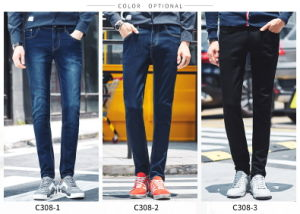 C308 Men Skinny Jeans pictures & photos