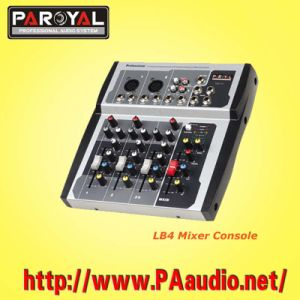 Mini Mixer Console (LB4)