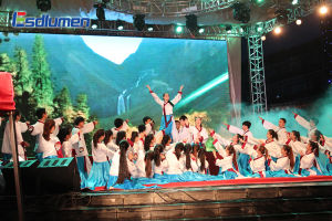 P6 Indoor Fullcolor Rental LED Displsy Screen for Advertising Business (ESD-SM6S)