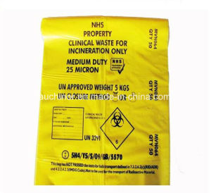 Heavy Duty Clinic Waste Bag for Biohazard Medial Waste pictures & photos