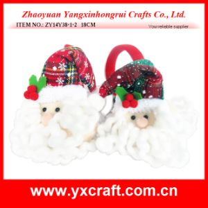 Christmas Decoration (ZY14Y23-3-4 24CM) Boot Christmas Santa China Fabric pictures & photos