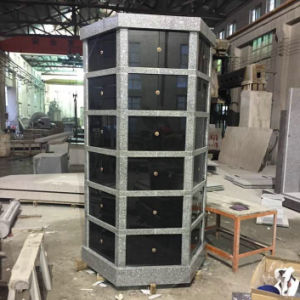 Seventy-Two 72 Niche Hexagonal Granite Columbarium pictures & photos