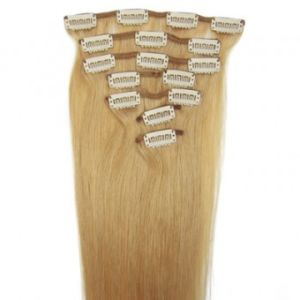 Direct Factory Price Brazilian Virgin Remy Clip in Hair Extensions pictures & photos