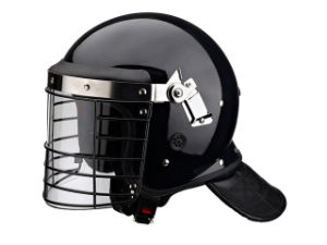 Anti Riot Helmet Standard Style with L Shape Visor Fbk-L01 pictures & photos