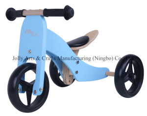 2017 Wholesale Wooden Balance Mini Bike 2 in 1for Toddlers, High Quality Wooden Balance Mini Bike for Toddlers pictures & photos