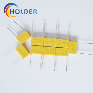 Metallized Polyester Film Capacitor X2 0.1UF K 275V pictures & photos