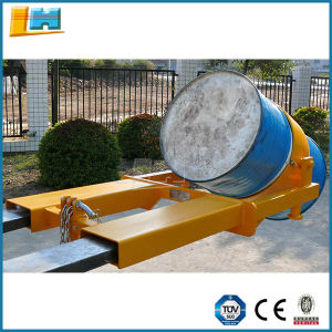 CE Forklift Attachment / Dr 400 Mf Drum Lifter Rotator