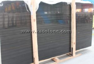 Black Sandal Marble for Slabs and Cut-to-Size pictures & photos