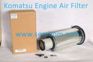 High Performance Engine Air Filter for Komatsu Excavator/Loader/Bulldozer