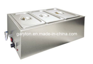 Electric Food Warmer Bain Marie for Keeping Food Warm (GRT-ZCK165AT-3) pictures & photos