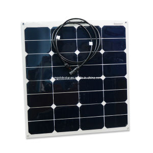 High Efficiency 50W Flexible Solar Panel China Manufacturer pictures & photos