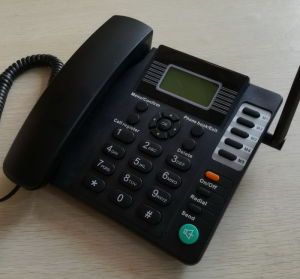 GSM Analog Phone with Speaker and Caller ID/ GSM Table Phone pictures & photos