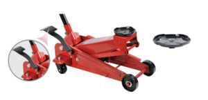 3t Floor Jack 28kg with Big Tray and Foot Pedal pictures & photos